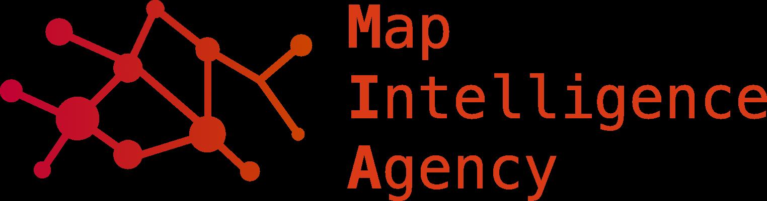 MIA map intelligence agency Logo